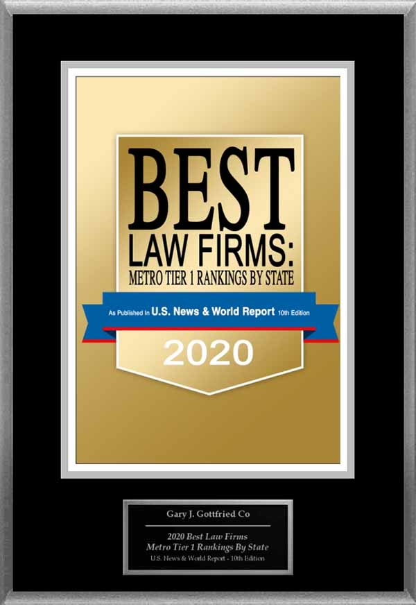 US News and World Report Best Law Firm of 2020
