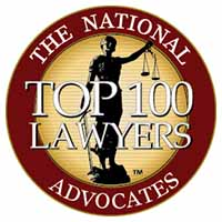 The National Advocates Top 100 lawyer in Columbus, Ohio