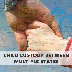 Child custody between multiple states