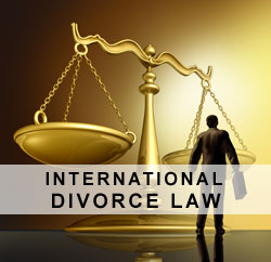 International divorce law