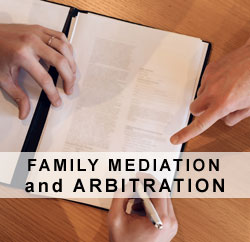 Family mediation and arbitration