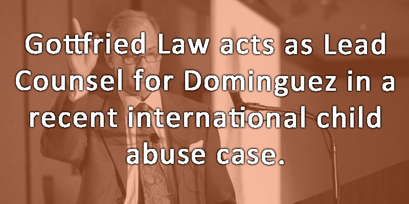 International Child abduction for Dominguez using Hague Convention
