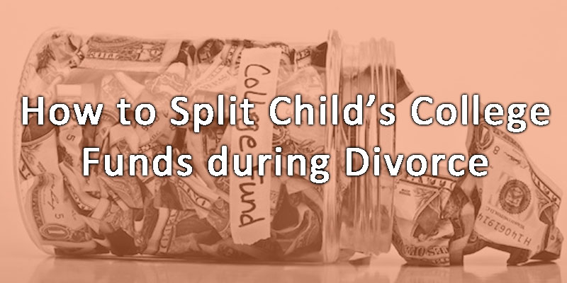 divorce law columbus ohio.  How to split a child's college fund