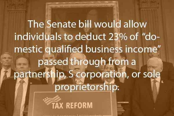Senate Tax reform